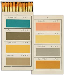 Painters Handbook Match Box with Wooden Matches