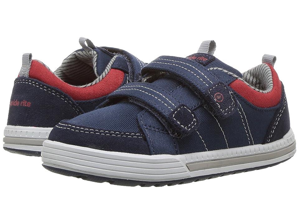Stride Rite Logan (Toddler) (Navy) Boys Shoes