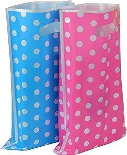 Plastic Party Favor Bags Assorted Colors 50 pcs (Cute Dots)