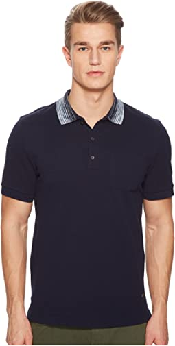 Missoni - Pique Polo with Contrast Collar