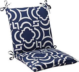 Pillow Perfect Outdoor Carmody Squared Chair Cushion, Navy
