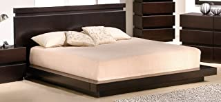 J and M Furniture 1754426-K Knotch King Size Bed