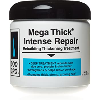 Doo Gro Mega Thick Rebuilding Intense Repair Thickening Treatment, 16 Ounce