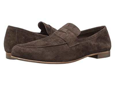 Massimo Matteo Suede Penny Loafer (T. Moro Suede) Men