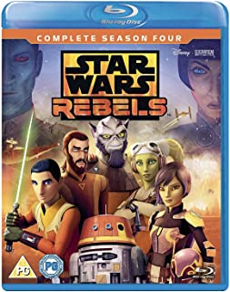 Star Wars Rebels - Season 4 [Italia] [Blu-ray]