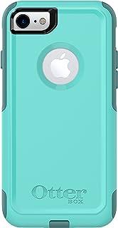 OtterBox COMMUTER SERIES Case for iPhone 8 & iPhone 7 (NOT Plus) - Retail Packaging - AQUA MINT WAY (AQUA MINT/MOUNTAIN RANGE GREEN)