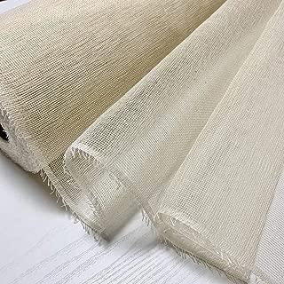 蚊帳生地 切り売り2m 未漂白綿100% お好みのサイズでふきんやタオルが作れます。お玄関の蚊帳カーテン アジアンインテリア ペットゲージの虫よけ ふきん タオル 赤ちゃんのスタイ 蚊帳 ベビー虫よけ ネット 手芸 刺繍 ミシン