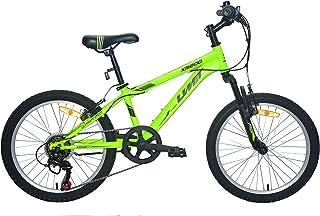 """Umit Bicicleta 20"""" XR-200 Verde con Cambio Shimano 6V."""