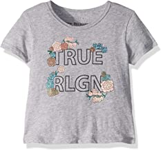 True Religion Girls' Fashion Short Sleeve Tee Shirt