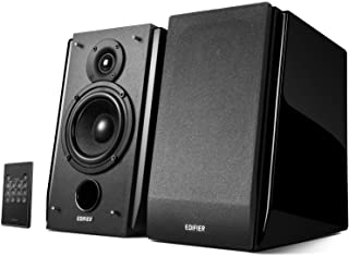 Edifier R1850DB Active Bookshelf Speakers with Bluetooth and Optical Input - 2.0 Studio Monitor Speaker - Built-in Amplifi...