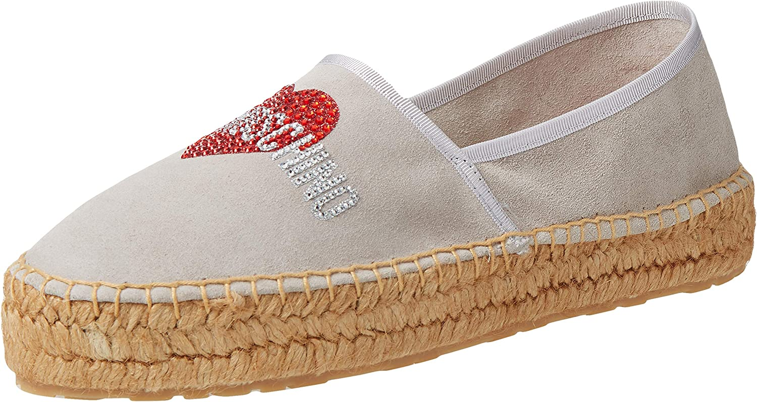 Love Moschino Detroit Mall 2021 spring and summer new Women's Espadrilles