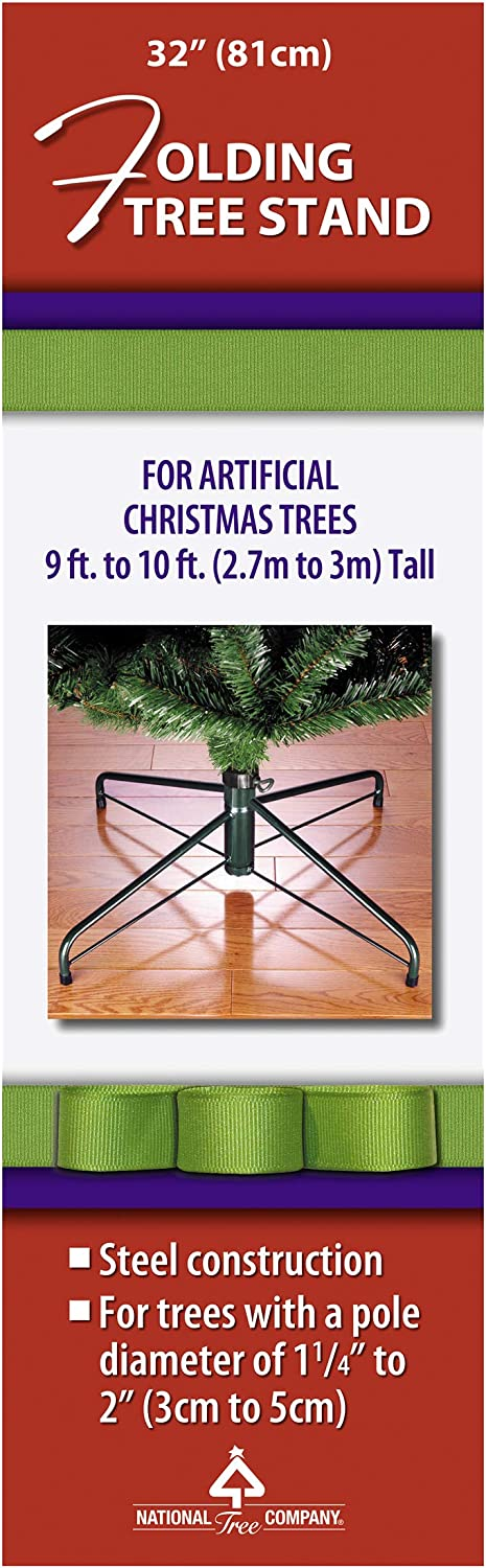 National Tree Folding Stand for 9'-10' Pole Oakland Mall 1.25