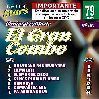 Karaoke El Gran Combo Latin Stars 079
