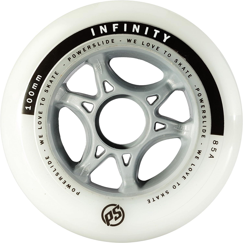 POWERSLIDE pOWERSLIDE wheels white white 84mm