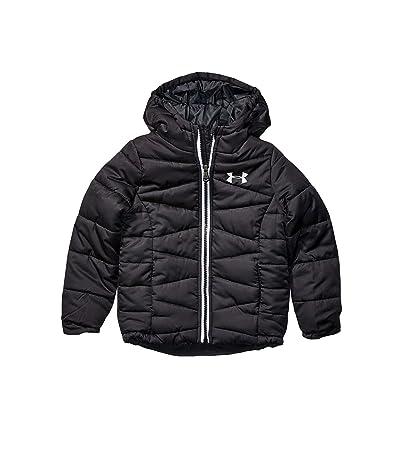 Under Armour Kids Prime Puffer Jacket (Big Kids) (Black) Girl