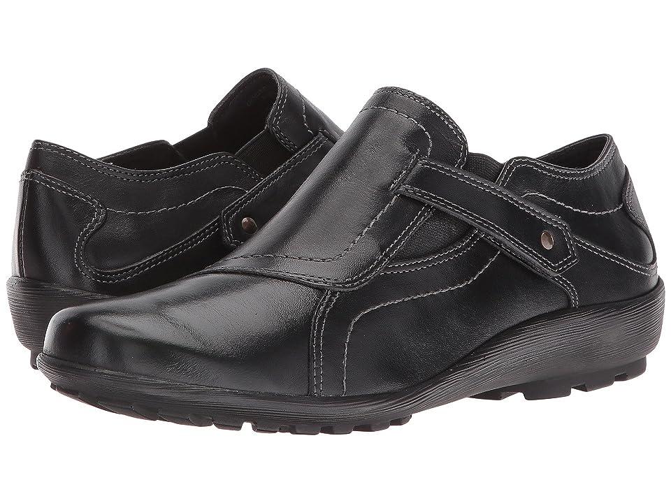 Walking Cradles Hardy (Black Leather) Women
