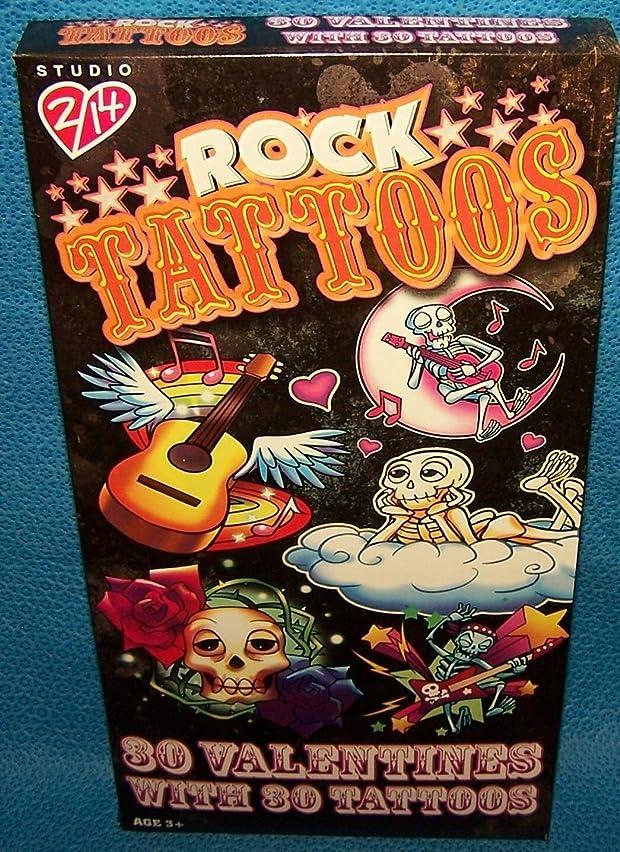 Valentines Day Cards ( Box of 30) Studio 2/14 Rock Tattoos ;#G344T3486G 34BG82G356513