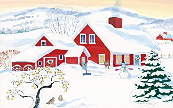 Red Farm Advent Calendar By Anne Kilham