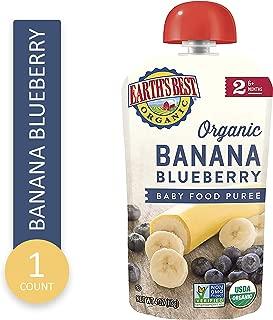 Earths Best Organic Banana Blueberry