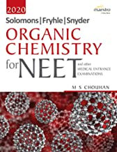 Wiley's Solomons, Fryhle, Synder Organic Chemistry for NEET and other Medical Entrance Examinations,