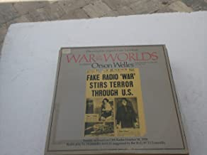 The Complete Original Radio Broadcast, 2 Lp set: War Of The Worlds Orson Welles and The Mercury Theatre Of The Air