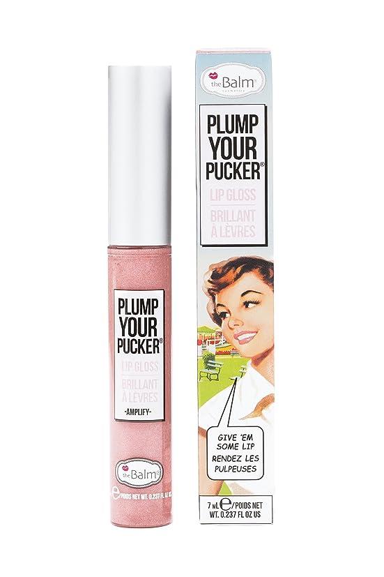 寺院そして決めますザバーム Plum Your Pucker Lip Gloss - # Amplify 7ml/0.237oz並行輸入品