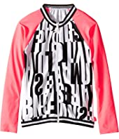Seafolly Kids - Tagged Long Sleeve Rashguard (Little Kids/Big Kids)