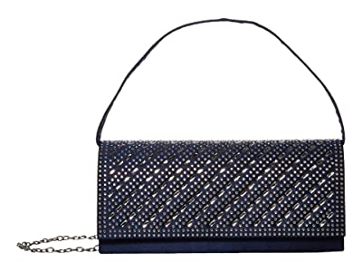 Jessica McClintock Petra (Navy) Clutch Handbags