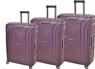 Magellan Luggage Trolley Bag for Unisex , Purple , BD-3PC