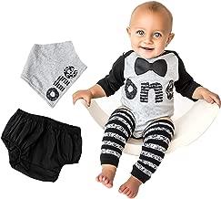 First Birthday Outfit Boy 1st Onesie B-Day – Bow Tie Word One Leg Warmers Bib Baby Cake Smash Set 5 Piece Set Raglan Tee
