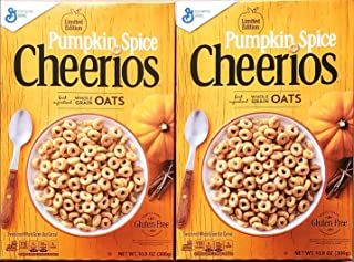 Pumpkin Spice Cheerios - 10.8 Oz - Limited Edition - Pack of 2