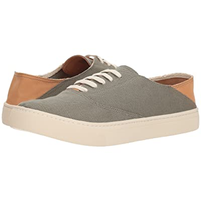 Soludos Convertible Lace-Up Sneaker (Olive) Men