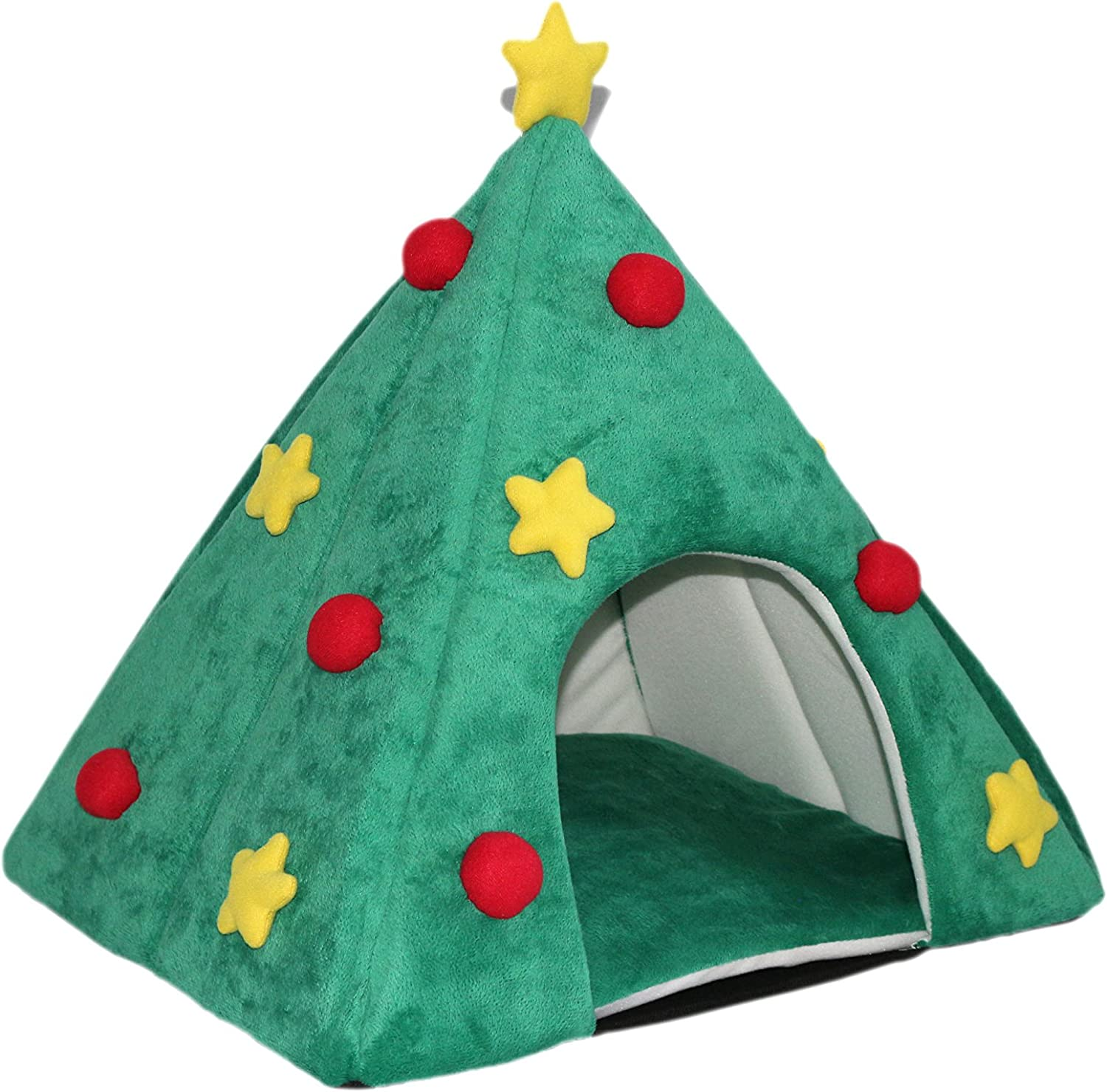 Purrrfect life PL15027 Christmas Tree Pet Bed
