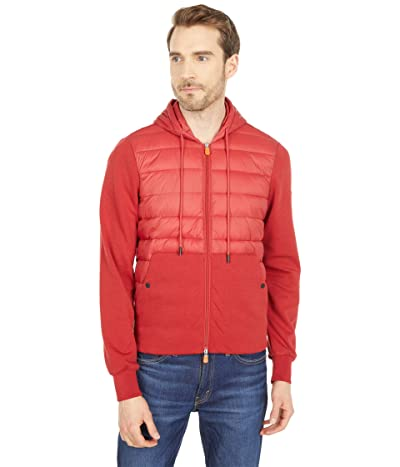 Save the Duck Connor GIFE Mixed Media Zip-Up Hooded Puffer Jacket