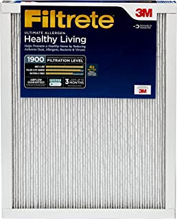 Filtrete 14x25x1, AC Furnace Air Filter, MPR 1900, Healthy Living Ultimate Allergen, 2-Pack