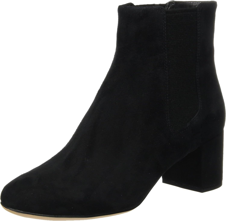 Clarks Orabella Anna - Black Suede Womens Boots