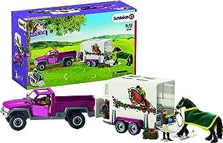 Schleich Pickup Truck with Horse Trailer
