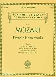 Favorite Piano Works: Schirmer'S Library of Musical Classics Vol. 2101