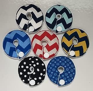 Cutie Button Pads G/j Tube Pad 7 Pack ( Boys MIX 7)