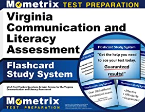 Virginia Communication and Literacy Assessment Flashcard Study System: VCLA Test Practice Questions & Exam Review for the Virginia Communication and Literacy Assessment (Cards)