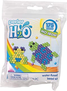 Perler Beads Turtle and Frog H2O Fuse Beads Kit, 179pcs