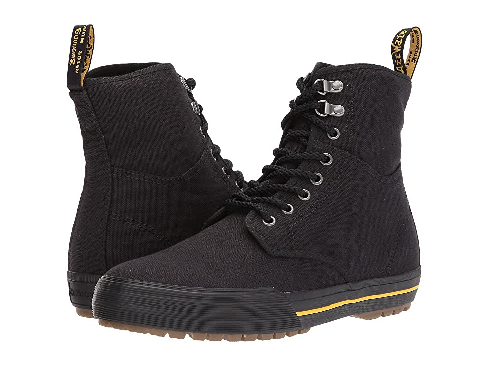 Dr. Martens Winsted D-Ring Boot (Black 14oz. Canvas) Men