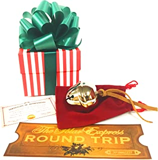 LilyDeal Polar Express Sleigh Bell Gift Set with Round Trip Ticket
