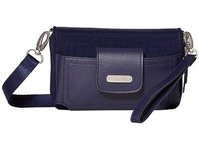 Baggallini New Classic RFID Phone Wallet Crossbody (Navy) Cross Body Handbags