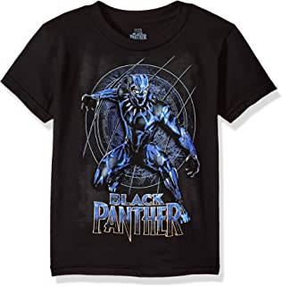Boys' Black Panther Movie Logo Short Sleeve T-Shirt