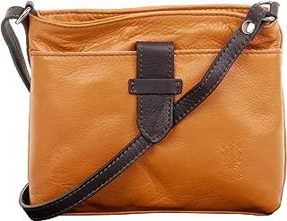 Italian Soft Leather Hand Made Small Adjustable Strap Cross Body Shoulder Bag Handbag