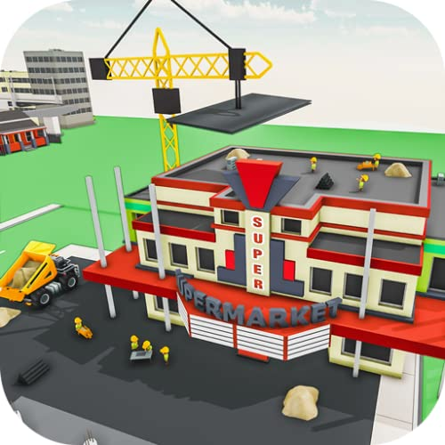 Super Market construction de nouveaux bâtiments Construction Jeu, Supermarket Mania 3D, Centre commercial Construction Jeu