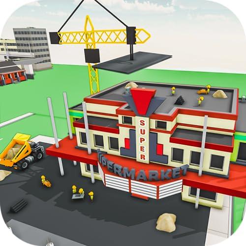 Super Market Κατασκευή Νέου Κτιρίου κατασκευής παιχνιδιών, Σούπερ μάρκετ Mania 3D, Εμπορικό Κέντρο Παιχνίδι Κατασκευή