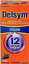 Delsym Adult Cough Suppressant Liquid, Grape Flavor, 5 Ounce
