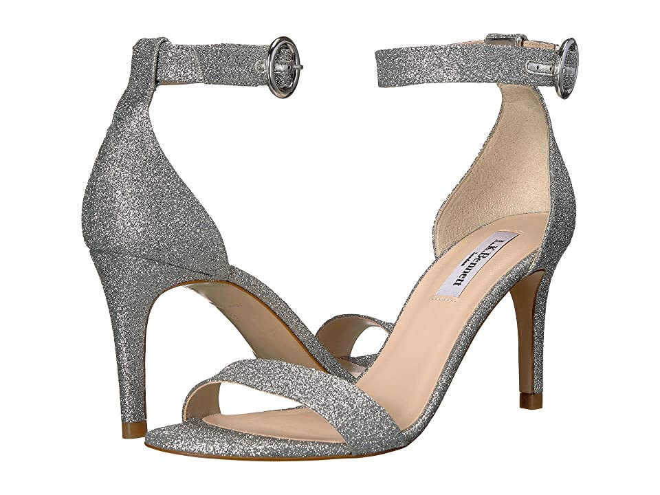 L.K. Bennett Dora (Silver Fine Glitter) Women